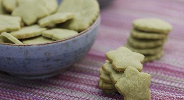 Bohnenhase Bento: Matcha Cookies / 抹茶クッキー