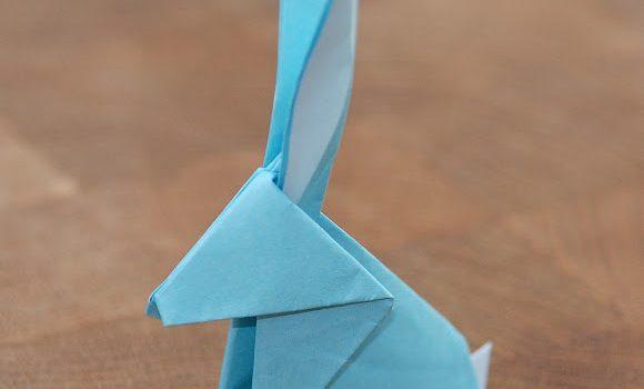 Simple Origami Rabbit / シンプル折り紙ウサギ