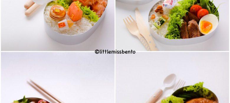 Miniature Bento - Collaboration with Mcdonald's Japan