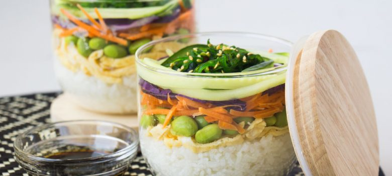 Meat-Free Sushi In A Jar