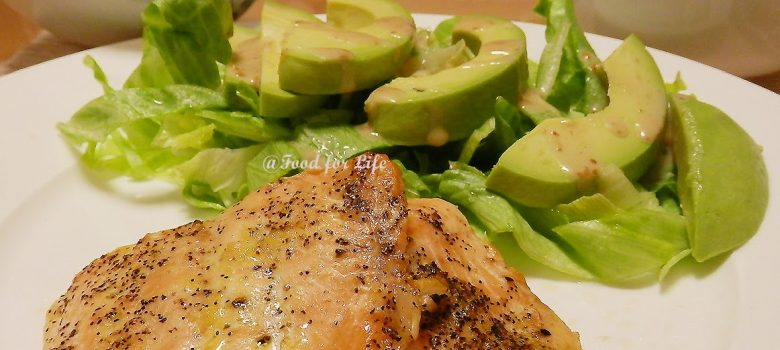 Food for Life: Baked Salmon Steak
