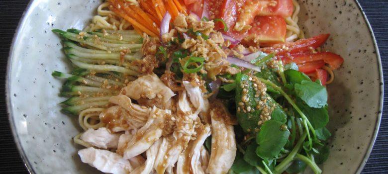 Ramen Salad | Hiroko's Recipes