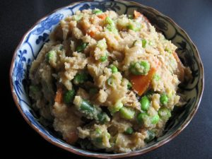 Chickpeas Pulp & Vegetables | Hiroko's Recipes