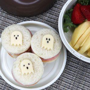 Ghost Sammies Bento | Adventures in Bentomaking