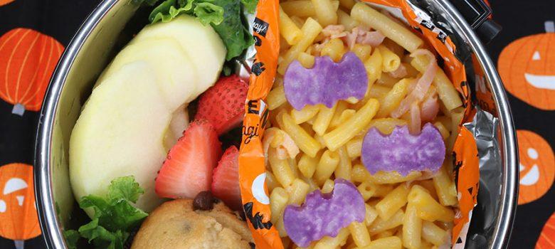 Bat Mac and Cheese Bento