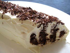 Choc Ripple Log Cake – Hiroko's Recipes