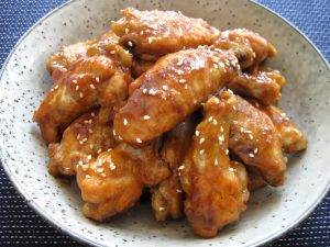 Pan-cooked Honey Soy Chicken Wing Nibbles – Hiroko's Recipes